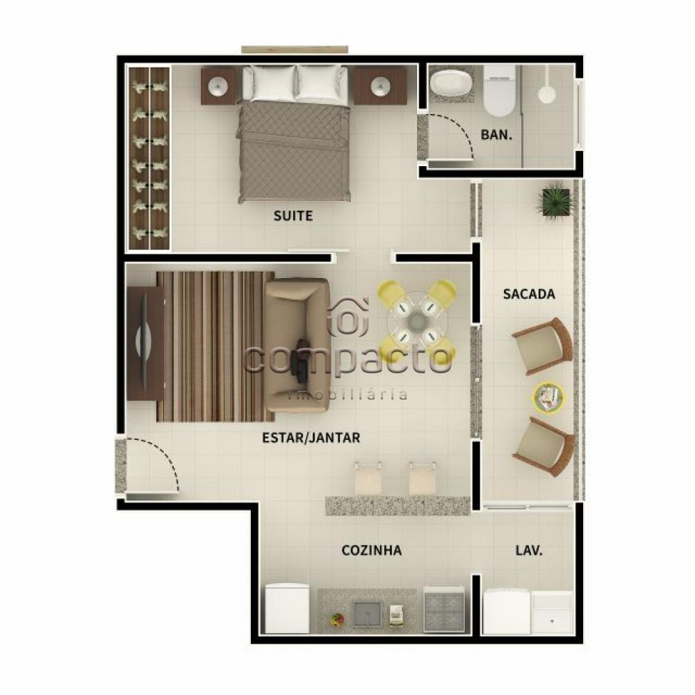 Comprar Apartamento / Padrão em São José do Rio Preto apenas R$ 150.500,00 - Foto 4