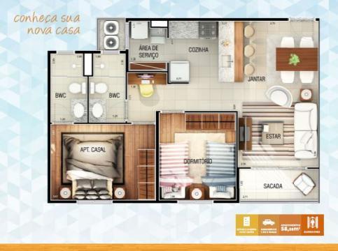 Comprar Apartamento / Padrão em São José do Rio Preto R$ 270.000,00 - Foto 11