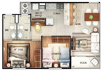 Comprar Apartamento / Padrão em São José do Rio Preto R$ 270.000,00 - Foto 2